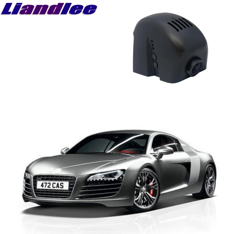 Liandlee Audi R8 2007 ~ 2016 Araba Black Box WiFi DVR Dash Kamera Sürüş Video Kaydedici